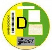 Etiqueta emisiones D